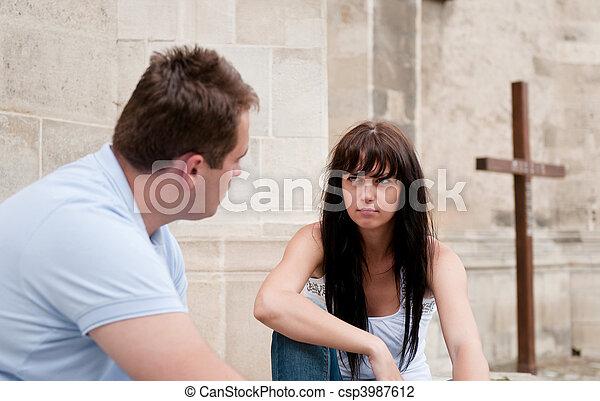 Relationship problems - csp3987612