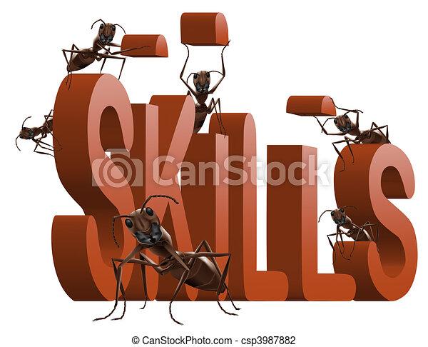 building skills - csp3987882