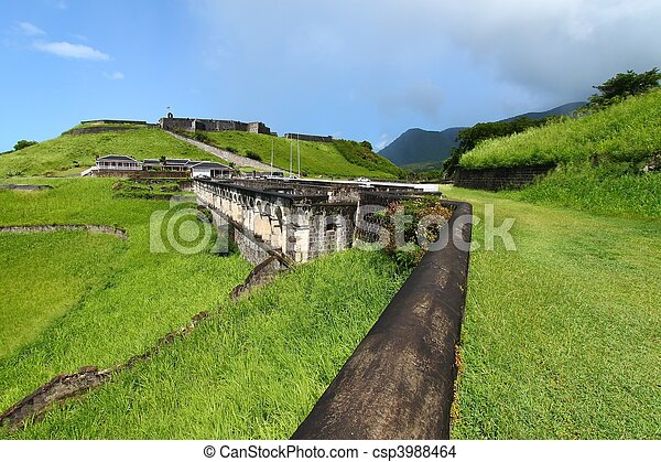 Brimstone Hill Fortress - St Kitts - csp3988464