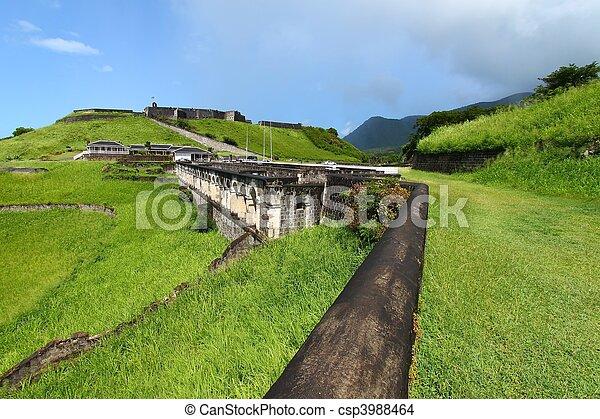 Brimstone Hill Fortress - St Kitts - csp3988464
