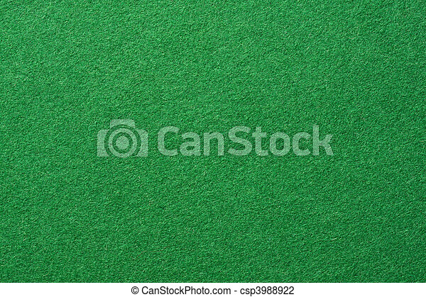 Green felt background - csp3988922