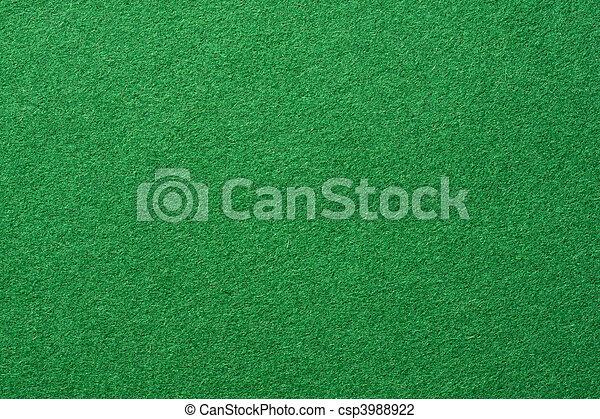 Green felt background - csp3988922