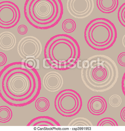 Seamless abstract twirl pattern - csp3991953