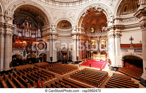 Stock fotografie van interieur berliner berlin dom de for Interieur 51 berlin