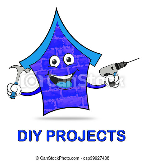 Do It Yourself Home Improvements Clip Art