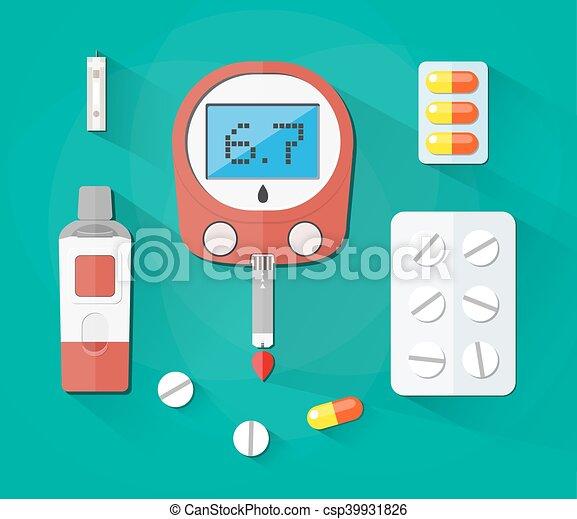 Pinout tira de prueba de glucosa