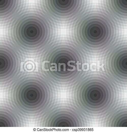 Seamless pattern background with geometric shapes - csp39931865
