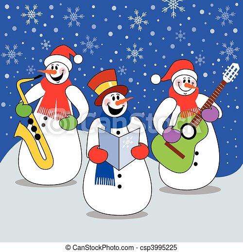 Christmas concert - csp3995225