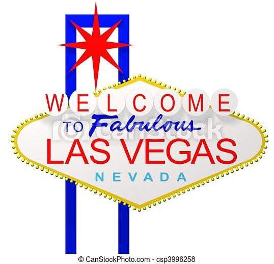 Las Vegas Sign - csp3996258