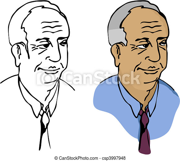 Elderly Businessman - csp3997948