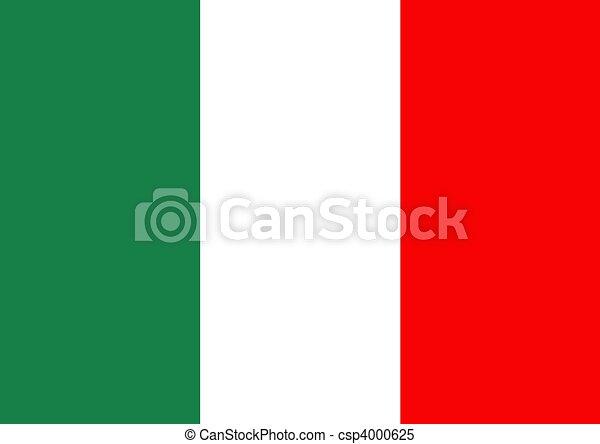 Italian flag - csp4000625
