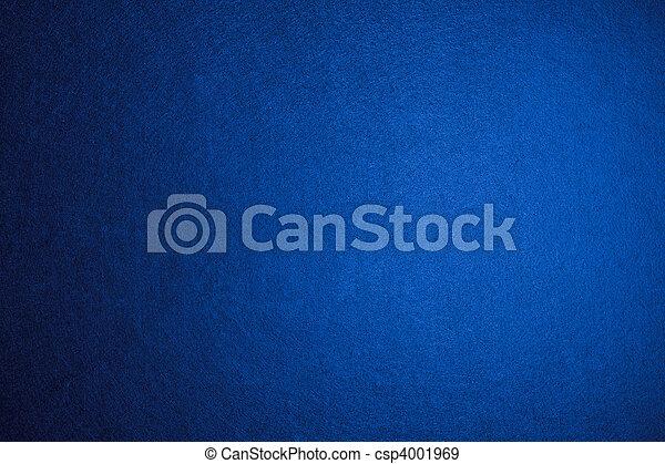 Blue felt background  - csp4001969