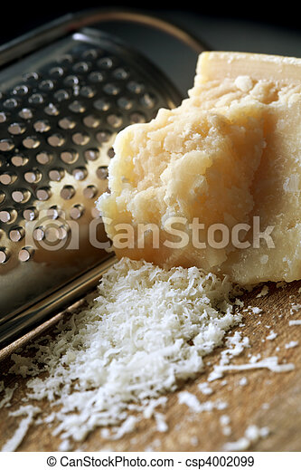 Grating Parmesan Cheese - csp4002099