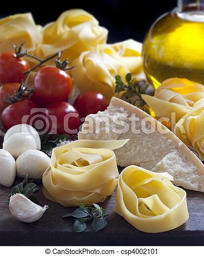 Italian Food Ingredients - csp4002101