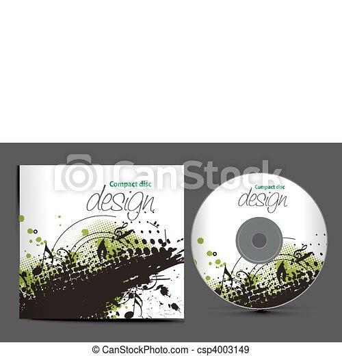 cd cover design - csp4003149
