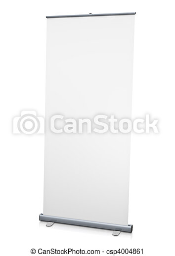 Roll-up display - csp4004861