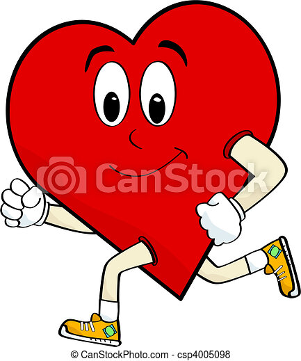 Running heart - csp4005098