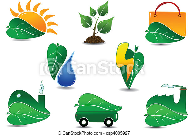 Ecology Icon Set - csp4005927
