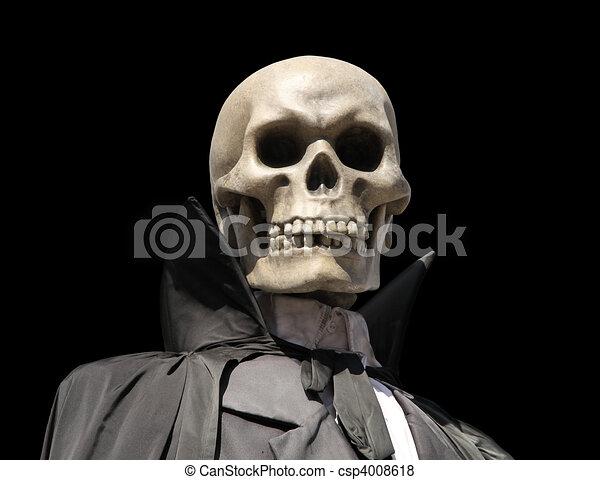 grim reaper. death\'s skeleton - csp4008618