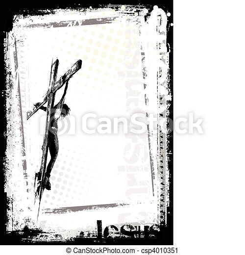 jesus background - csp4010351