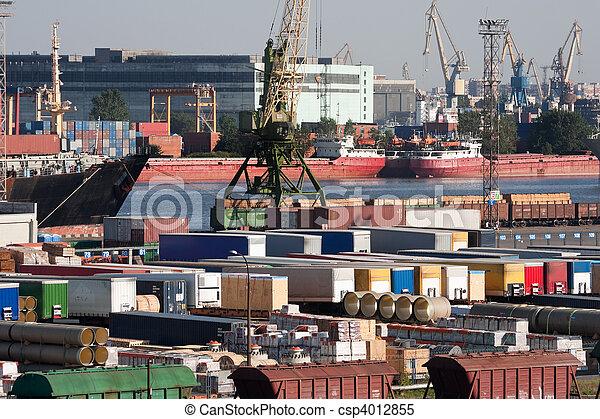 Sea trading port - csp4012855