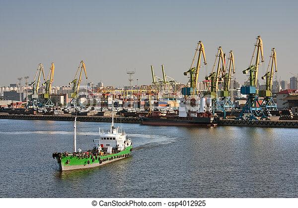 Sea trading port - csp4012925