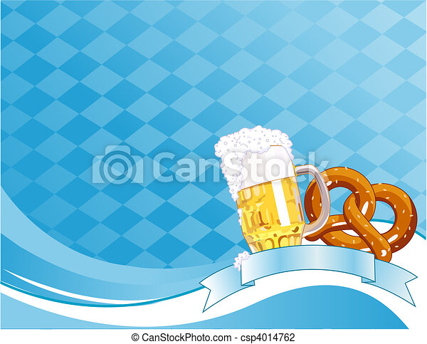 Oktoberfest Celebration Background - csp4014762