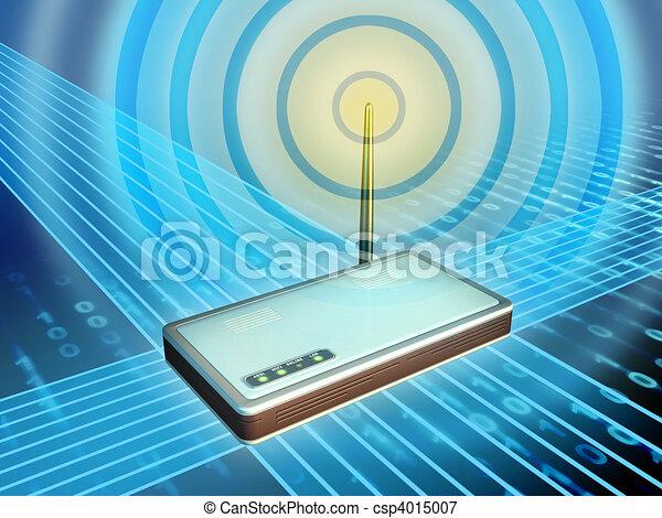 Wireless modem - csp4015007