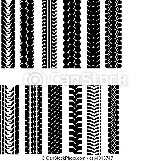 Tire shapes - csp4015747