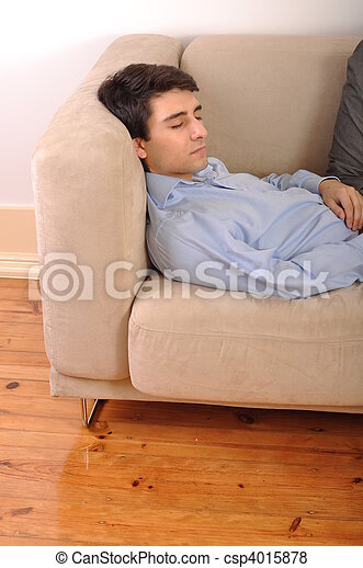 Pictures of man sleeping on the couch attractive young for Couch you can sleep on