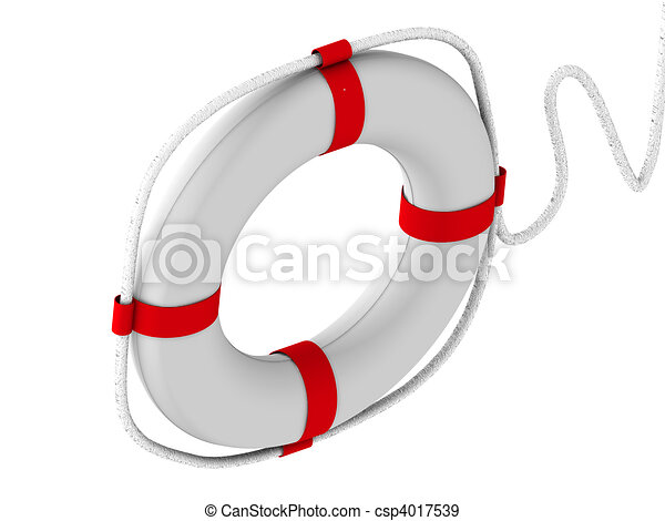 life preserver for first help - csp4017539