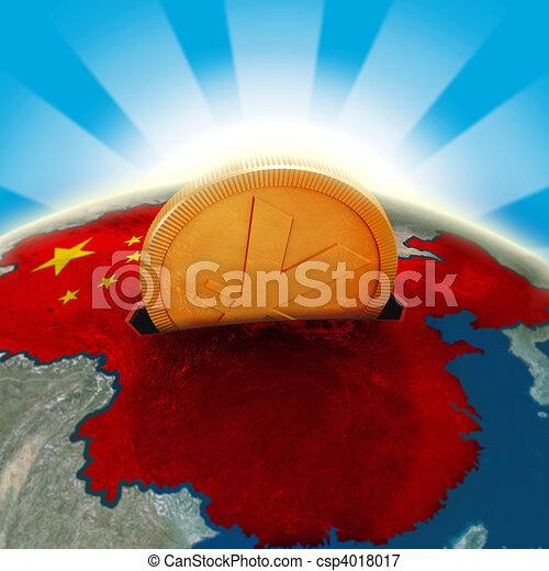 China moneybox - csp4018017