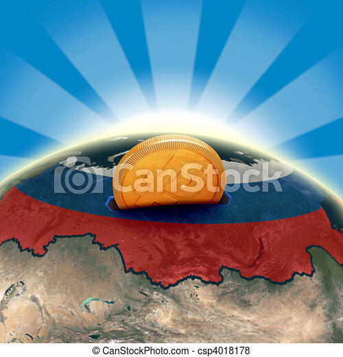 Russia moneybox - csp4018178