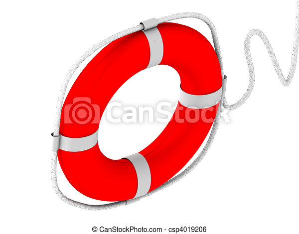 life preserver for first help - csp4019206
