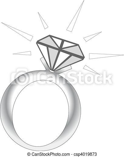Sparkle Diamond Ring - csp4019873