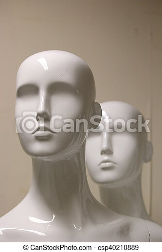 Mannequins and Models In Store. - csp40210889