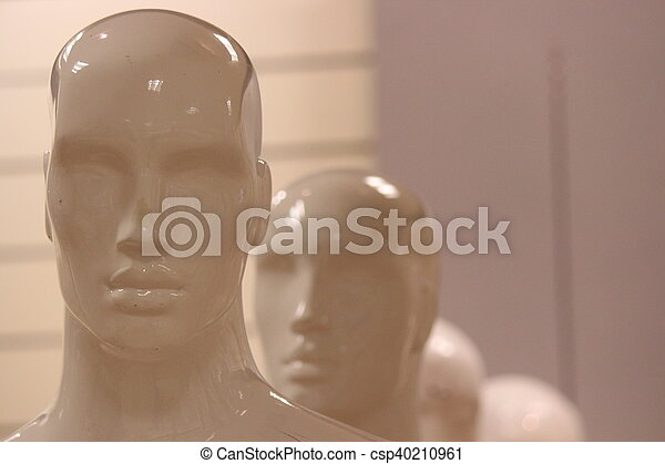 Mannequins and Models In Store. - csp40210961