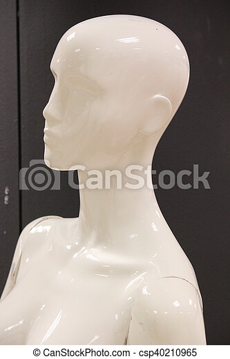 Mannequins and Models In Store. - csp40210965
