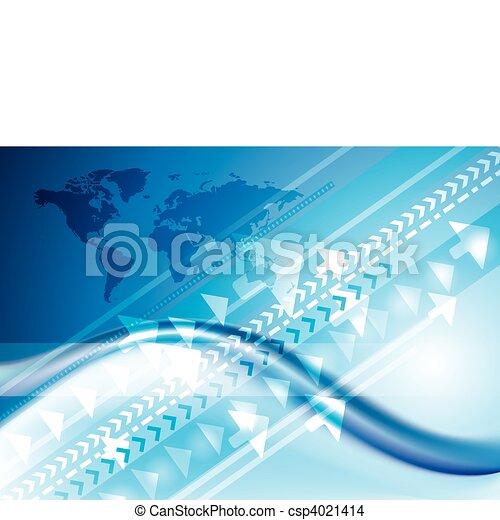 Technology internet connection - csp4021414