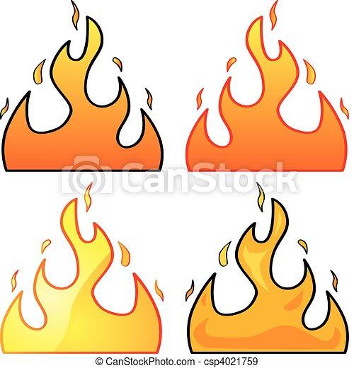 Flames - csp4021759
