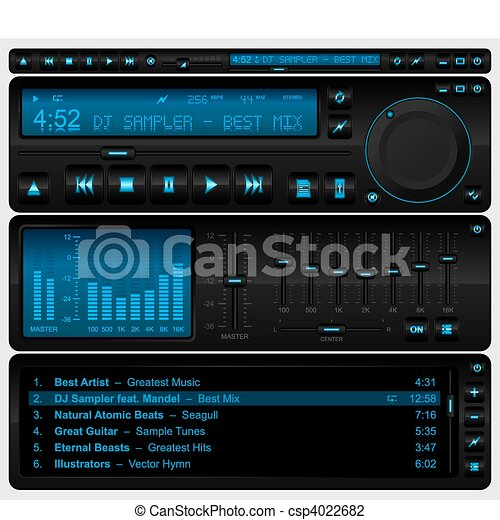 Multimedia player interface - csp4022682