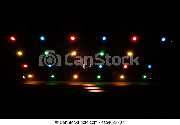 Disco lights - csp4022707