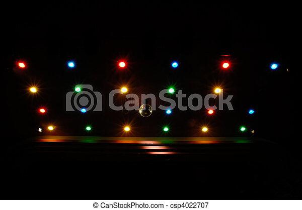 Disco lights - csp4022707