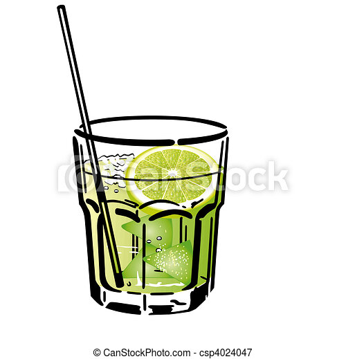 Illustrations Vectoris 233 Es De Caipirinha Cocktail