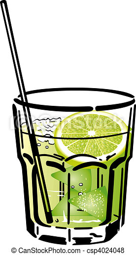 Illustration de caipirinha cocktail cocktail - Dessin cocktail ...