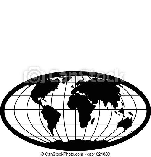 Vector Globe - csp4024880