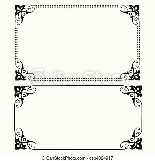 Vector Dot Frames - csp4024917
