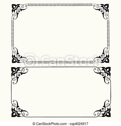 Vector Dot Frames - csp4024917