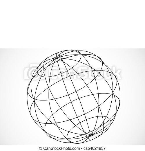 Vector Sphere - csp4024957