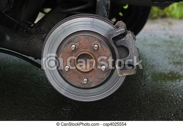 photo de voiture disque frein brake disc sommet csp4025554 recherchez des images des. Black Bedroom Furniture Sets. Home Design Ideas